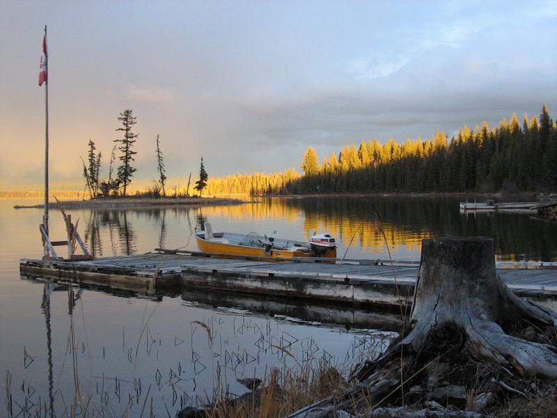 Another Sheridan Lake evening.