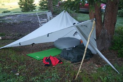 Minimalist shelter.