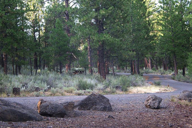 Thompson Reservoir campground