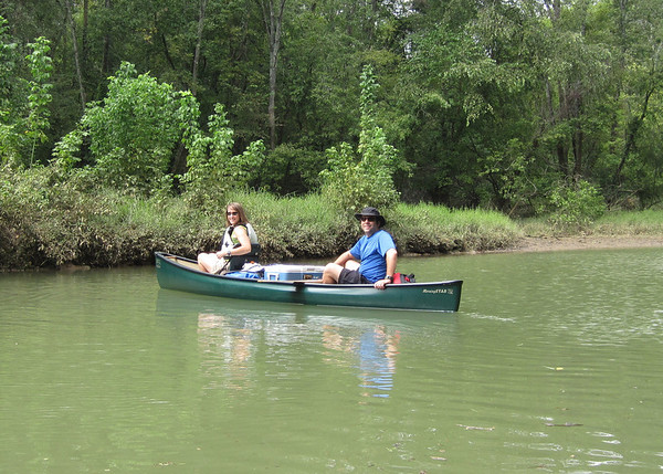 TN River canoeing and camping Sep 2011