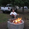 Don at Vanripper State Park  around the campfire