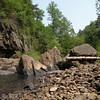Big rocks at Lula Lake Land Trust
