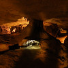 "The ""Racoon's House"" in the caverns."