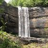 Lula Falls front view