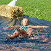 A young girl enjoys the chocolate Slip N Slide at the Jellystone Park in Cave City, Kentucky. Photo courtesy of the Jellystone Park in Cave City.