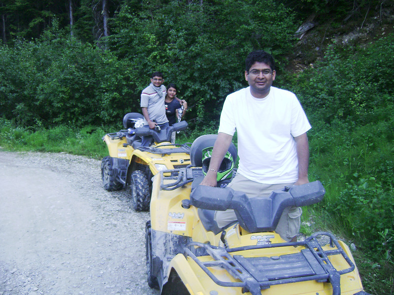 ATV Ride in mountains