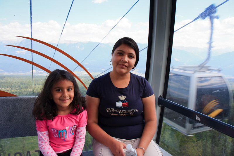 Gondola at Kicking Horse Resort