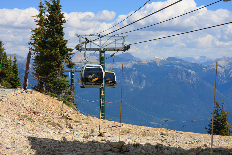 Gondola at Kicking Horse Resort