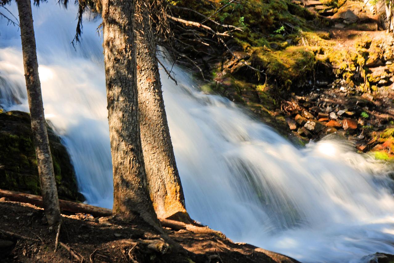 Waterfall on Rawson Lake Trail