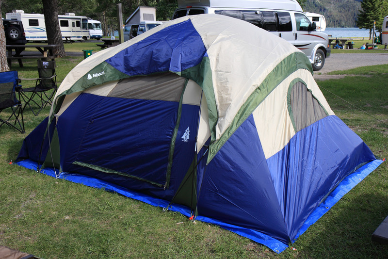 Our First Tent