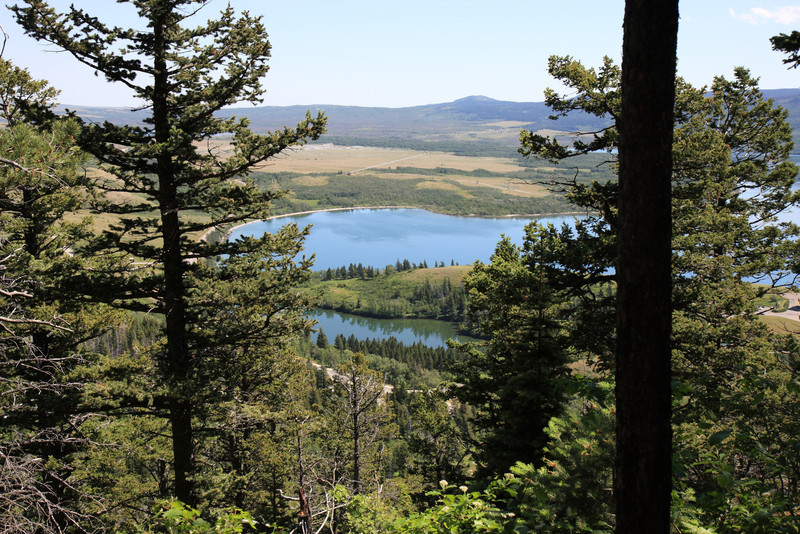 View from Bearshump Trail