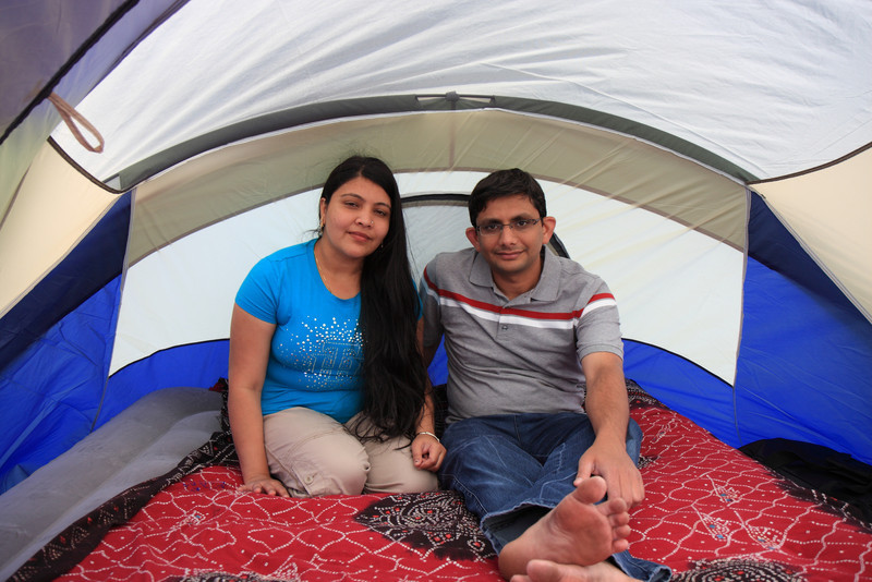 Inside the Tent