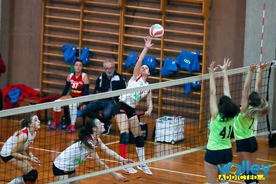 PALLAVOLO AROSIO 3 - VIRTUS CERMENATE 0 9^ Giornata - Prima Divisione Femminile 2017/18 Arosio (CO) - 8 dicembre 2017