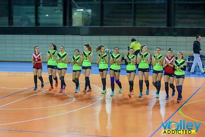 Union Volley 1 - Virtus Cermenate 3 18^ Giornata - Prima Divisione Femminile 2017/18 Mariano Comense (CO) - 23 febbraio 2018