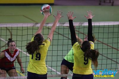 Virtus Cermenate 3 - Union Volley Mariano 0 Prima Divisione Femminile 2017/18 3^ Giornata Cermenate (CO) - 27 ottobre 2017