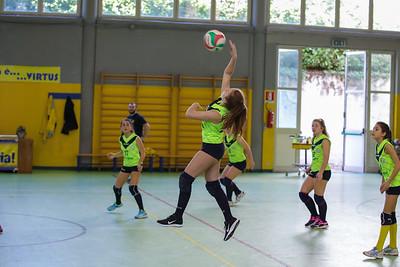 Virtus Cermenate 0 - Pallavolo Lomazzo 3 Finale 15 posto Under 14 Femminile 2017/2018 Cermenate (CO) - 22 aprile 2018