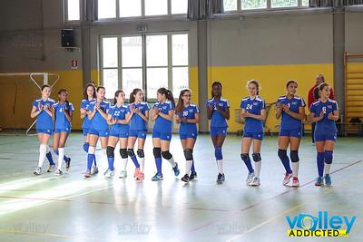 Virtus Cermenate 3 - Alebbio 0 Under 14 Femminile 2017/2018 - Terza Giornata Cermenate (CO) - 29 ottobre 2017