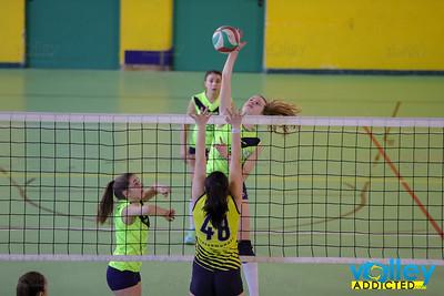 VIRTUS CERMENATE 3 - POL. INTERCOMUNALE BLU 0 5^ Giornata Girone Campione provinciale Under 16 Femminile 2017/18 Cermenate (CO) - 24 febbraio 2018
