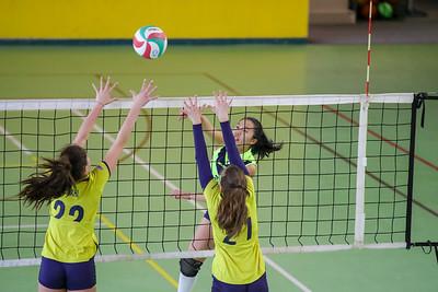 Virtus Cermenate 3 - Union Volley Mariano 1 9^ Giornata Girone Campione provinciale Under 16 Femminile 2017/18 Cermenate (CO) - 24 marzo 2018