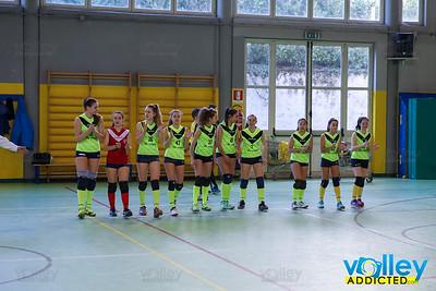 VIRTUS CERMENATE 2 - VALBREGGIA VOLLEY 3 3^ Giornata Girone Campione provinciale Under 16 Femminile 2017/18 Cermenate (CO) - 10 febbraio 2018