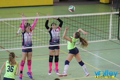 Virtus Cermenate 3 - Volley Longone 2 Under 16 Femminile Eccellenza 2017/2018 - Prima Giornata Cermenate (CO) - 21 ottobre 2017