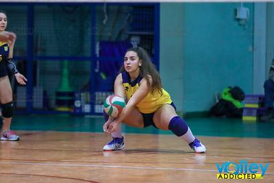 Lariointelvi 0 - Virtus Cermenate 3 5^ Giornata Girone Campione Provinciale Under 18 Femminile 2017/2018 Cermenate (CO) - 25 febbraio 2018
