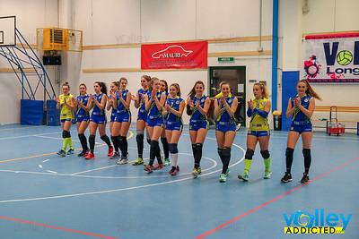 Volley Longone 3- Virtus Cermenate 1 Semifinale Provinciale Under 18 Femminile 2017/2018 Longone al Segrino (CO) - 16 marzo 2018