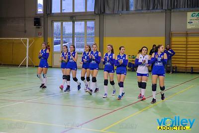 Virtus Cermenate 3 - Montesolaro 0 6^ Giornata Girone Campione Provinciale Under 18 Femminile 2017/2018 Cermenate (CO) - 4 marzo 2018