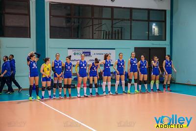 GS Carimate 3 - Virtus Cermenate 1 15^ Giornata - Serie D Femminile 2017/2018  FIPAV Lombardia Carimate (CO) - 8 febbraio 2018