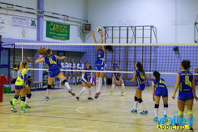 Cd Transport Como Volley 3 Virtus Cermenate 1 12^ Giornata - Serie D Femminile 2017/2018  FIPAV Lombardia Como - 13 gennaio 2018
