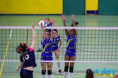 Virtus Cermenate 1 - Pol Coop Novate 3 13^ Giornata - Serie D Femminile 2017/2018  FIPAV Lombardia Cermenate (CO) - 21 gennaio 2018