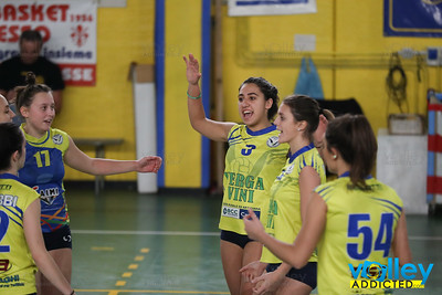 F.LLI TRINCA BRESSO 3 - VIRTUS CERMENATE 0 10^ Giornata - Serie D Femminile 2017/2018  FIPAV Lombardia Bresso (MI) - 16 dicembre 2017