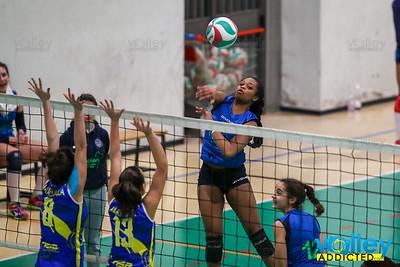 Gelateria Cagliani Vivi Volley - Virtus Cermenate 3-2 14^ Giornata - Serie D Femminile 2017/2018  FIPAV Lombardia Induno Olona (VA) - 3 febbraio 2018
