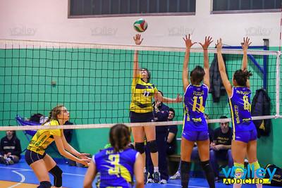 Cof Lariointelvi 3 - Virtus Cermenate 1 16^ Giornata - Serie D Femminile 2017/2018 FIPAV Lombardia Cernobbio (CO) - 17 febbraio 2018