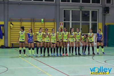 Virtus Cermenate 1 - GS Carimate 3 Serie D Femminile 2017/2018  FIPAV Lombardia - Seconda Giornata Cermenate (CO) - 21 ottobre 2017