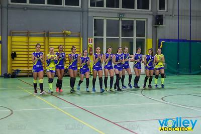 Virtus Cermenate 1 - Engineering Bresso 3 11^ Giornata - Serie D Femminile 2017/2018  FIPAV Lombardia Cermenate (CO) - 23 dicembre 2017