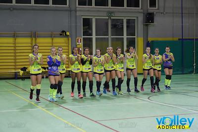 VIRTUS CERMENATE 1 - PROGETTO VOLLEY ARCOBALENO 3 6^ Giornata - Serie D Femminile 2017/2018  FIPAV Lombardia Cermenate (CO) - 19 novembre 2017
