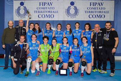 Premiazioni Finali Under 18 Femminile 2017/2018 1^ Brenna Briacom 2^ Volley Longone 3^ Virtus Pallavolo 4^ Polisportiva Intercomunale