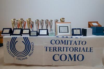 Premiazioni Stagione 2017/2018 FIPAV Comitato Territoriale Como LarioFiere, Erba (CO) - 22 giugno 2018