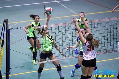 Virtus Cermenate - Vilar Volley Prima Divisione Femminile 2016/17 Rovellasca (CO) - 20 gennaio 2017