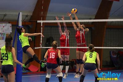 S. Giorgio Luraghese 3 - Virtus Cermenate 1 Prima Divisione Femminile 2016/17 Lurago Marinone (CO) - 17 febbraio 2017