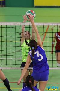 Virtus Cermenate - Polisportiva Azzurra Prima Divisione Femminile 2016/17 Cermenate (CO) - 24 febbraio 2017
