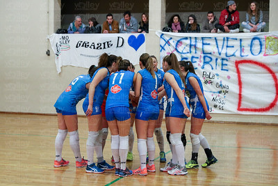 Cd Transport Como Volley 3 - Virtus Cermenate 2 Prima Divisione Femminile 2016/17 Como - 21 aprile 2017