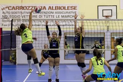 Pol. Intercomunale - Virtus Cermenate 3-2 6^ Giornata Prima Divisione Femminile 2016/17 Cagno (CO) - 18 novembre 2016