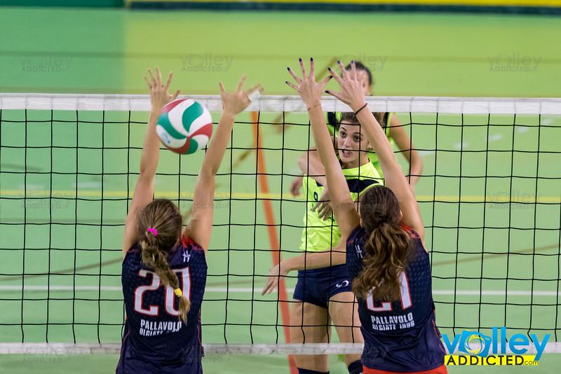 Virtus Cermenate - Pallavolo Olgiate 7^ Giornata Prima Divisione Femminile 2016/17 Cermenate (CO) - 25 novembre 2016