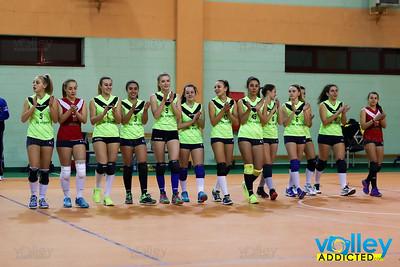 Pizzeria Al Pesce Vela 0 - Virtus Cermenate 3 Prima Divisione Femminile 2016/17 Erba (CO) - 13 gennaio 2017