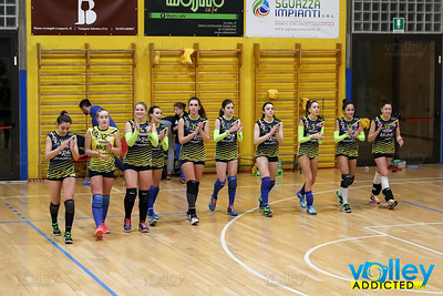 Marbi Uggiate 3 - Virtus Cermenate 0 13^ Giornata Seconda Divisione Femminile 2016/17 Uggiate Trevano (CO) - 2 febbraio 2017