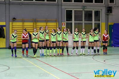 Virtus Cermenate 3 - Lambrugo 0 14^ Giornata Seconda Divisione Femminile 2016/17 Cermenate (CO) - 10 febbraio 2017