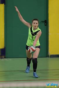 Virtus Cermenate - Valbreggia Volley 16^ Giornata - Seconda Divisione Femminile 2016/17 Cermenate (CO) - 3 marzo 2017