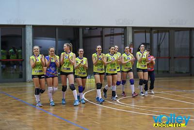 Cacciatori delle Alpi 1 - Virtus Cermenate 3 21^ Giornata Seconda Divisione Femminile 2016/17 San Fermo della Battaglia (CO) - 6 aprile 2017